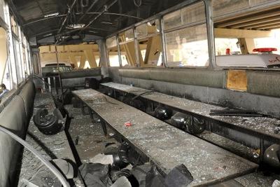 Terrorist bombing in the al-Midan neighborhood of Damascus